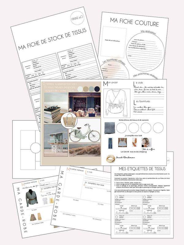 Fiches pratiques pdf couture Anne bO