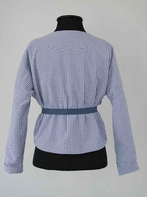 Patron veste kimono rayée bOrnéo Anne bO
