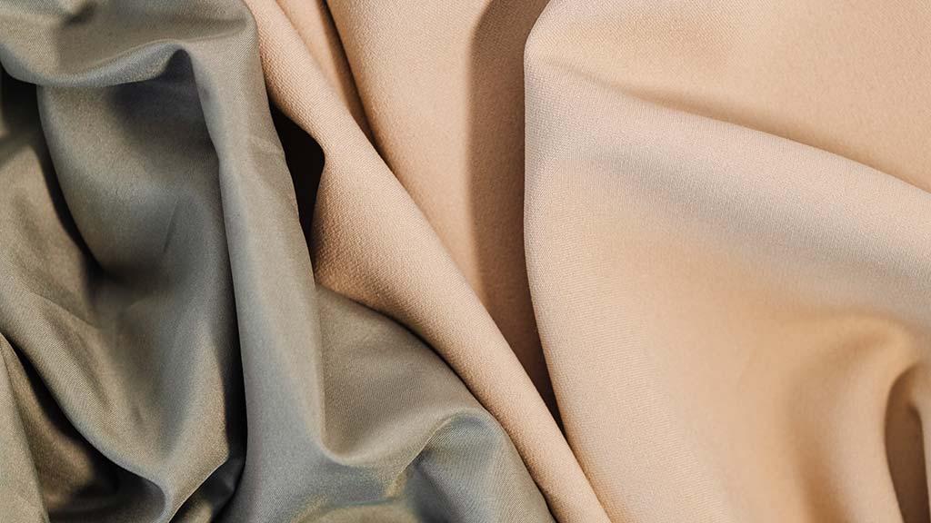 Slippery fabrics